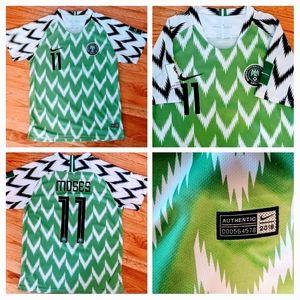 Nike 2018 Nigeria Soccer Jersey